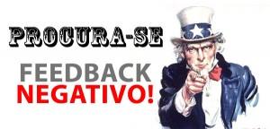 Branding: Procura-se Feedback negativo!