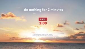 """Desafio: Conheça o """"não faça nada por 2 minutos"""""""