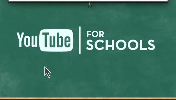 Youtube nas escolas