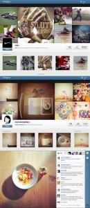 Versão web completa do Instagram