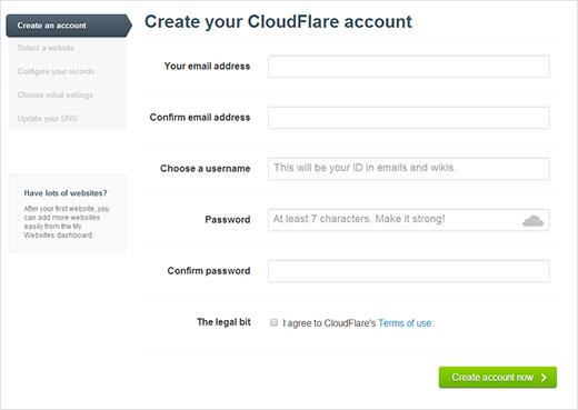 cloudflare-signupform
