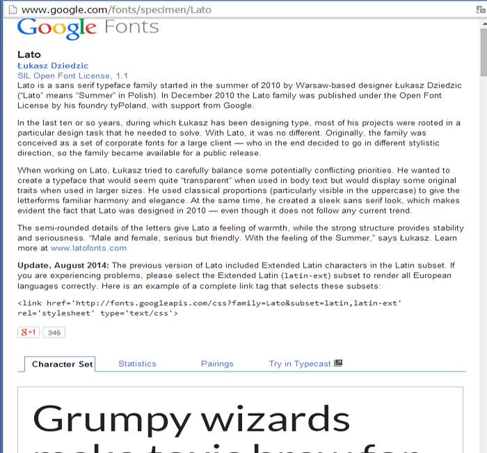 trocar-fonte-google-web-2