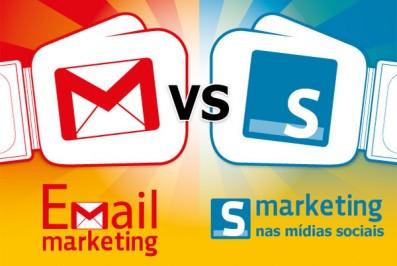 Email marketing x marketing nas mídias sociais, qual é o melhor?