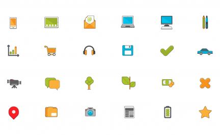 Ícones Grátis para Site e Blogs (Faça o Download!)