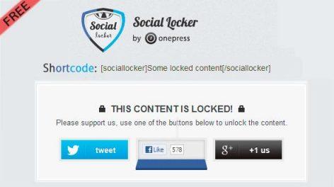 Como ter mais seguidores nas Redes Sociais com o Plugin Social Locker p/ WordPress