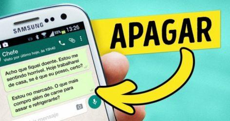 WhatsApp permitirá cancelamentos de mensagens enviadas