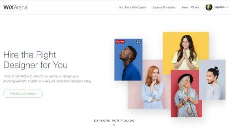Wix Arena: veja o porquê você deve contratar um designer para o seu site